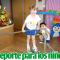 Deporte para el desarrollo y crecimiento de los niños