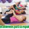 Estiramientos mejoran el dolor de Espalda: Hernias, Escoliosis